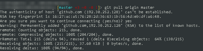Git with SSH